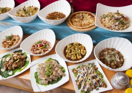 40種類を超える料理