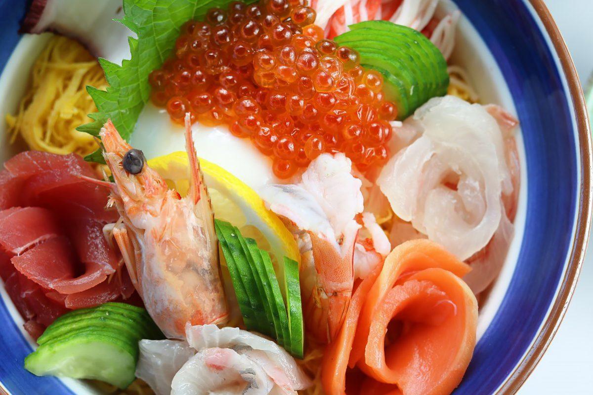 海鮮花盛丼